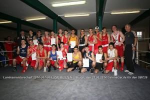 Berliner Meister U19/U17 2014